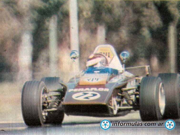 Lotus 61-Renault de Fórmula 2 Mecánica Argentina